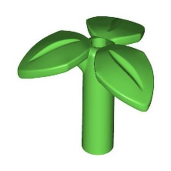 LEGO 6235080 PLANTE / FEUILLAGE - BRIGHT GREEN