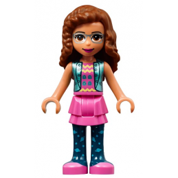 Mini Figurine LEGO® : Friends - Olivia mini-figurine-lego-friends-olivia ici :