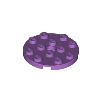 LEGO 6134717 PLATE ROND 4X4 - MEDIUM LAVENDER