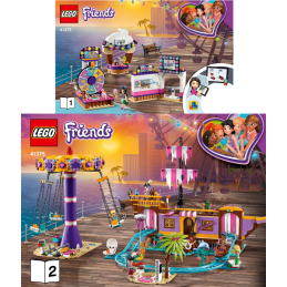 Notice / Instruction Lego Friends 41375