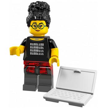 Mini Figurine LEGO® Série 19 - la programmeuse
