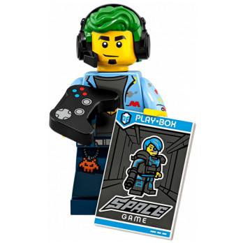 Mini Figurine LEGO® Série 19 -   le champion de jeu vidéo