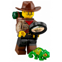 Mini Figurine LEGO® Série 19 -  l'explorateur de la jungle