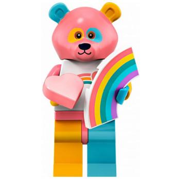 Mini Figurine LEGO® Série 19 -  le type en costume de panda