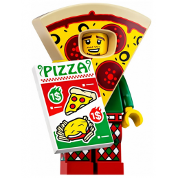 Mini Figurine LEGO® Série 19 -  le type en costume de pizza