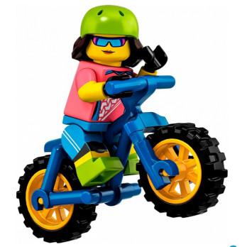 Mini Figurine LEGO® Série 19 -  la vététiste