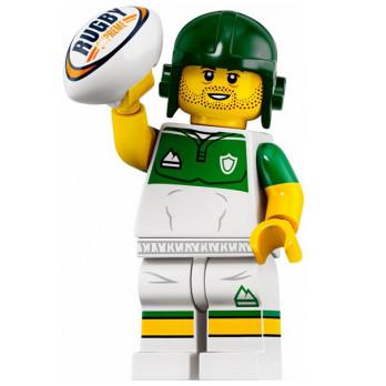 Mini Figurine LEGO® Série 19 -  le joueur de rugby