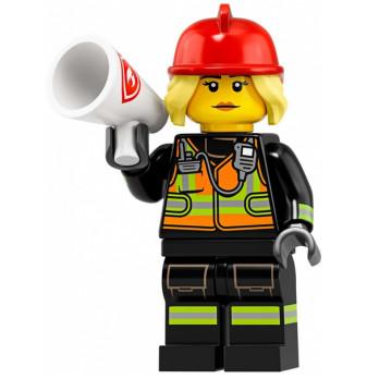 Mini Figurine LEGO® Série 19 -  la pompière