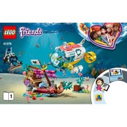 Notice / Instruction Lego Friends 41378