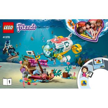 Notice / Instruction Lego Friends 41378 notice-instruction-lego-friends-41378 ici :