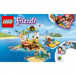 Notice / Instruction Lego Friends 41376