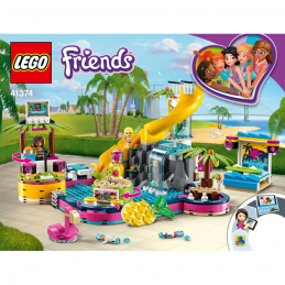 Notice / Instruction Lego Friends 41374