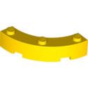 LEGO 6200676 BOW 1/4 4X4X1 - JAUNE