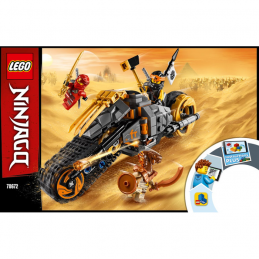 Notice / Instruction Lego Ninjago 70672