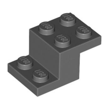 LEGO 6099909 BRIQUE PLATE 2X3X1 1/3 - DARK STONE GREY