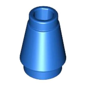 LEGO 4520957 CONE 1X1 - BLEU