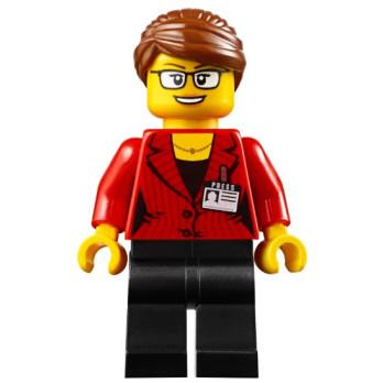 Mini Figurine LEGO® City - Journaliste