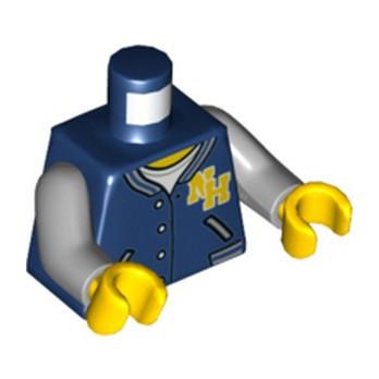 LEGO 6232341 TORSE - VESTE EARTH BLUE