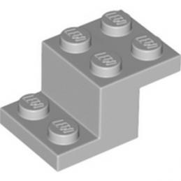 LEGO 6093054 BRIQUE PLATE 2X3X1 1/3 - MEDIUM STONE GREY