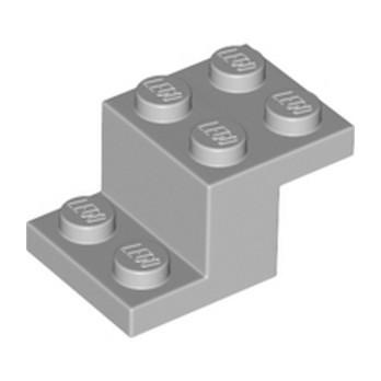 LEGO 6347992 PLATE BRICK 2X3X1 1/3 - MEDIUM STONE GREY
