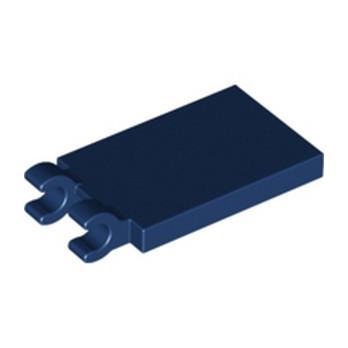 LEGO 6331690 PLATE 2X3 W. HOLDER - EARTH BLUE