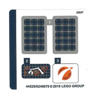 Stickers / Autocollant Lego City 60225