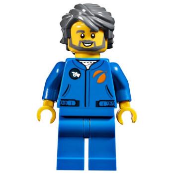 Mini Figurine LEGO® City - Agent Spatial mini-figurine-lego-city-agent-spatial ici :