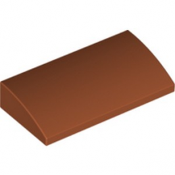 LEGO 6186046 BRIQUE DOME 2X4X2/3 - DARK ORANGE lego-6186046-brique-dome-2x4x23-dark-orange ici :
