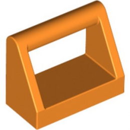 LEGO 6253318 CLAMP 1X2 - ORANGE