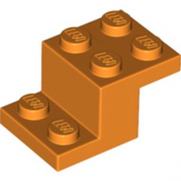 LEGO 6264014 BRIQUE PLATE 2X3X1 1/3 - ORANGE