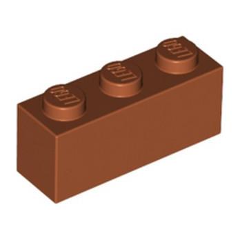 LEGO 6263221 BRIQUE 1X3 - DARK ORANGE