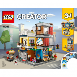Notice / Instruction Lego Creator 3 en 1 - 31097