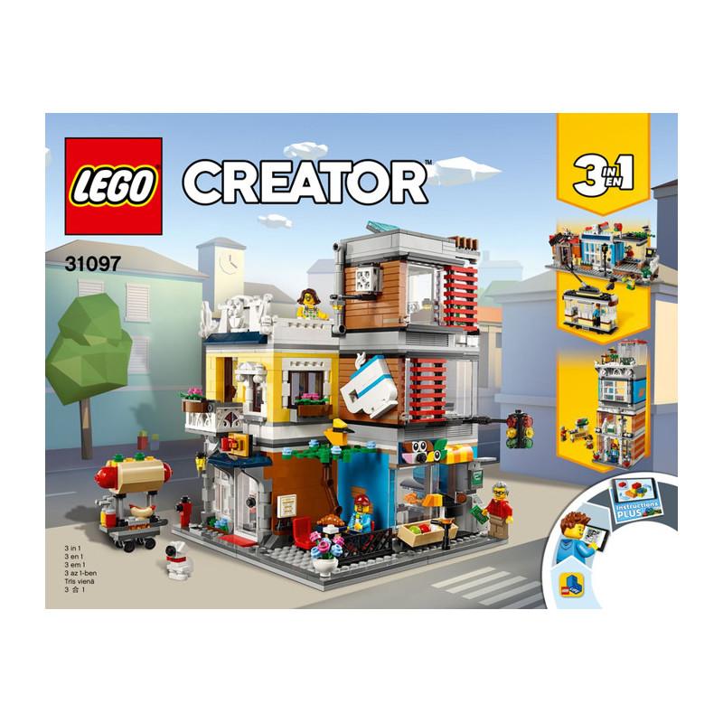 Notice / Instruction Lego Creator 3 en 1 - 31097