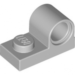LEGO  6225230 PLATE 1X2 W. HOR. HOLE Ø 4.8 - MEDIUM STONE GREY