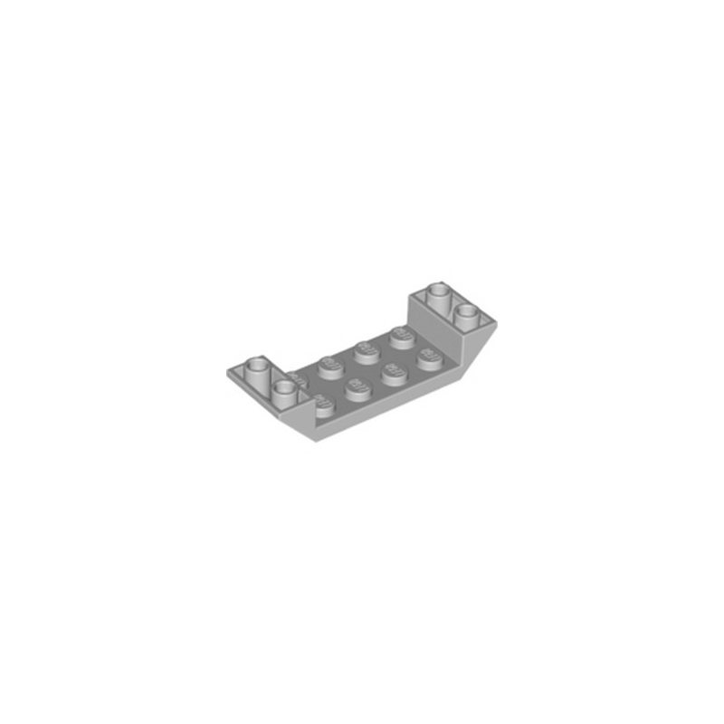LEGO 6225219 ROOF TILE 2X6 45 DEG - MEDIUM STONE GREY