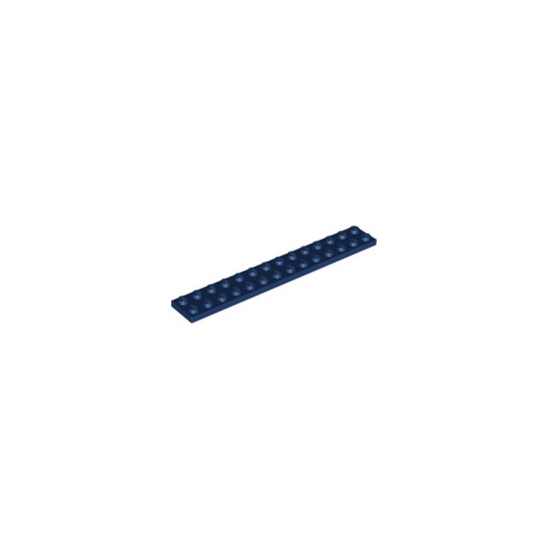 LEGO 6186638 PLATE 2X14 - EARTH BLUE