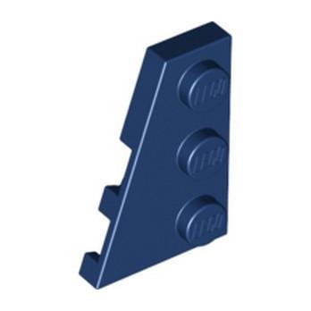 LEGO 6251381 PLATE 2X3 ANGLE GAUCHE - EARTH BLUE