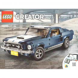 Notice / Instruction Lego Creator Ford Mustang 10265