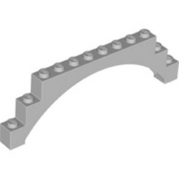 LEGO 6246844 ARCHE 1X12X3 - MEDIUM STONE GREY
