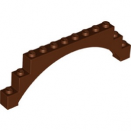 LEGO 6246843  ARCHE 1X12X3 - REDDISH BROWN