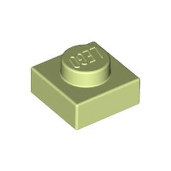 LEGO 6069255 PLATE 1X1 - SPRING YELLOWISH GREEN
