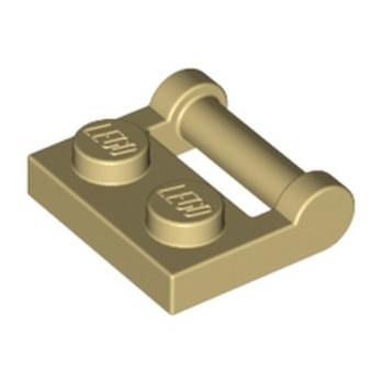 LEGO 4217562 PLATE 1X2 W. STICK 3.18 - BEIGE