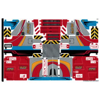 Stickers / Autocollant Lego Technic 42098