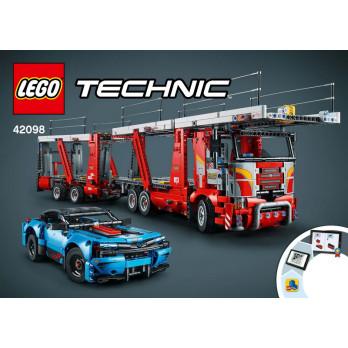 NOTICE / INSTRUCTION LEGO TECHNIC - 42098
