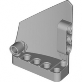 LEGO 6030215 TECHNIC RIGHT PANEL 5X7 - MEDIUM STONE GREY