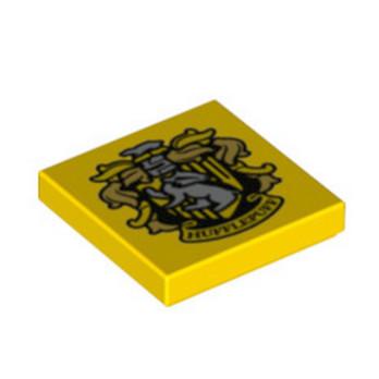 LEGO 6267456 IMPRIME HARRY POTTER 2X2 - JAUNE