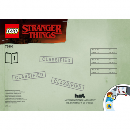Notice / Instruction Lego Stranger Things 75810