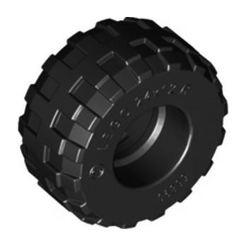 LEGO 4498340 PNEU Ø 24x12 - NOIR lego-6162541-pneu-o-24x12-noir ici :