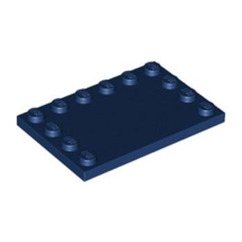 LEGO 6236568 PLATE 4X6 W. 12 KNOBS - EARTH BLUE