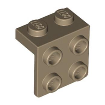 LEGO 6275485 ANGLE PLATE 1X2 / 2X2 - SAND YELLOW lego-6275485-angle-plate-1x2-2x2-sand-yellow ici :